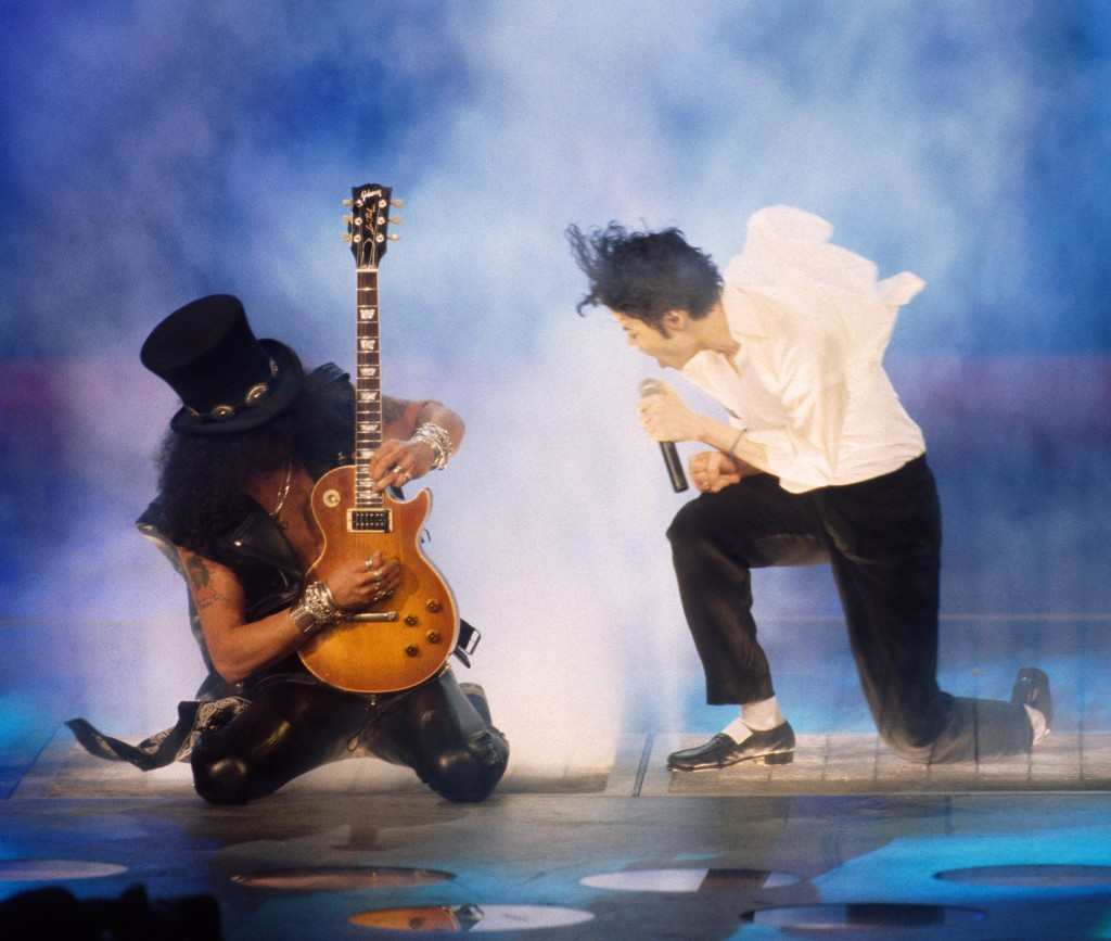 Michael Jackson a Slash