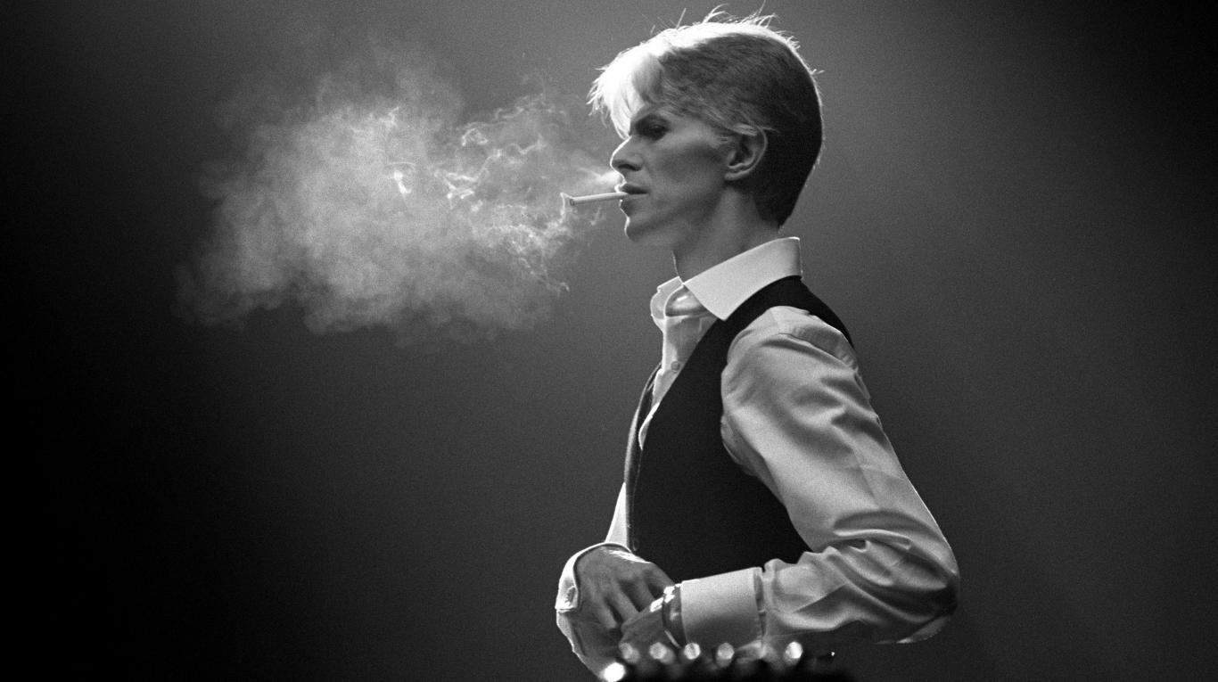 David Bowie jako Thin White Duke