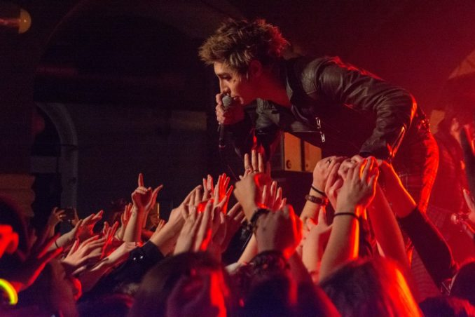 Foto: Palaye Royale a The Haunt, 19. 2. 2019, Futurum Music Bar, Praha