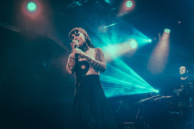 Foto: Jinjer, The Agonist, Khroma a Space of Variations, 13. 11. 2019, MeetFactory, Praha